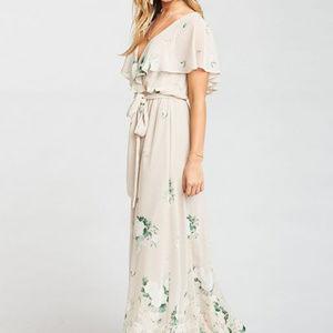 SHOW ME YOUR MUMU AUDREY DRESS - BOQUET TOSS - SM